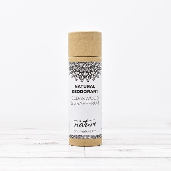 Your Nature Cedar wood & Grapefruit Natural Deodorant Stick
