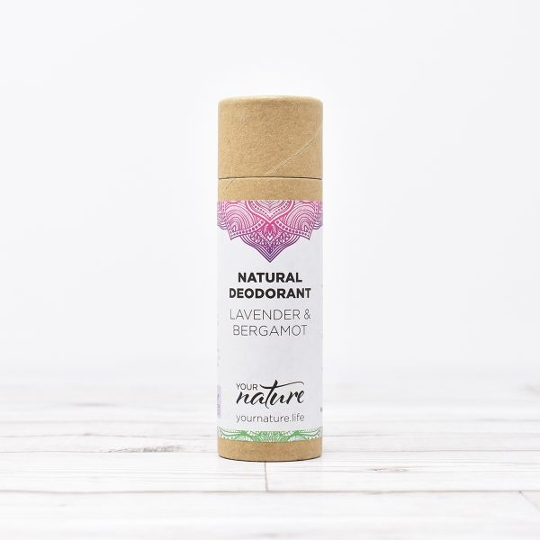 Your Nature Lemon & Bergamot Natural Deodorant Stick