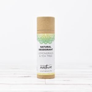 Your Nature Lemongrass & Tea Tree Natural Deodorant Stick