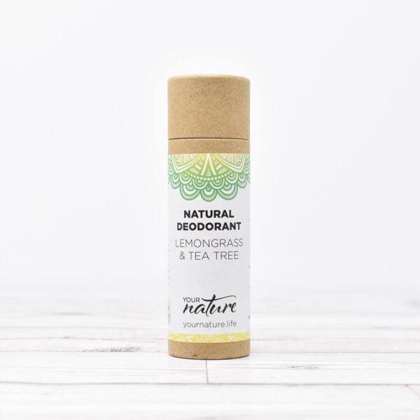 Your Nature Lemongrass & Tea Tree Natural Deodorant Stick