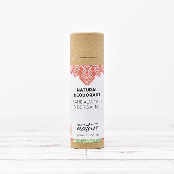 Your Nature Sandalwood & Bergamot Natural Deodorant Stick