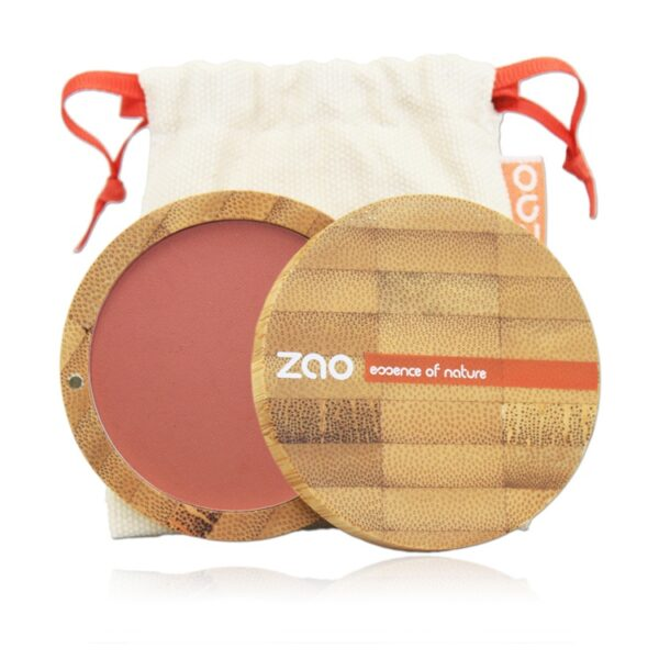 Zao Compact Blush Case And Bag