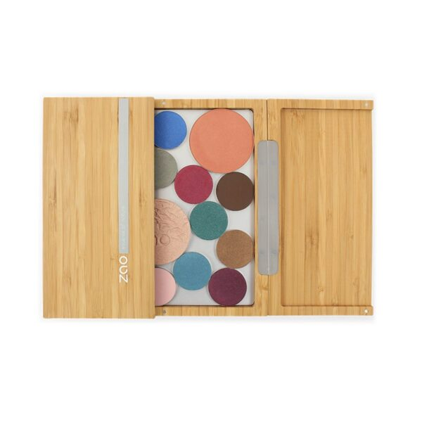 Zao Bamboo Makeup Palette With Makeup Powders