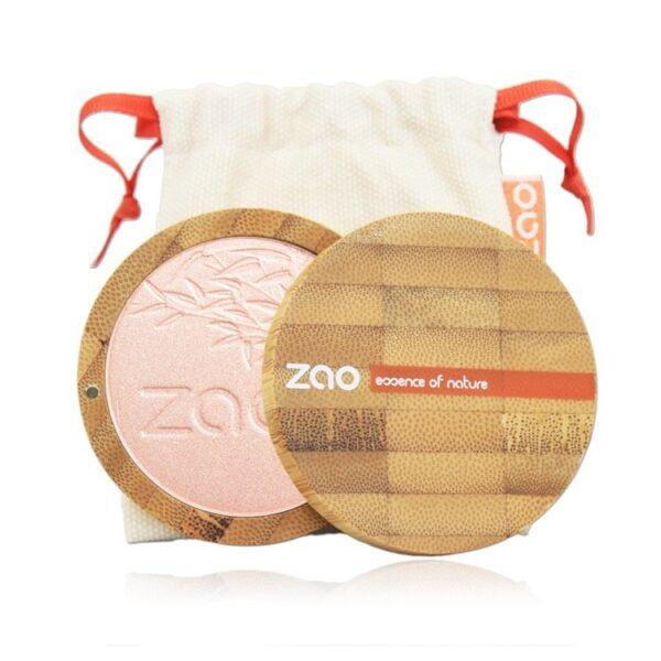 Zao Shine-Up Powder Case And Bag