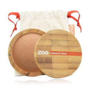 Zao Golden Copper Mineral Cooked Powder Case And Bag
