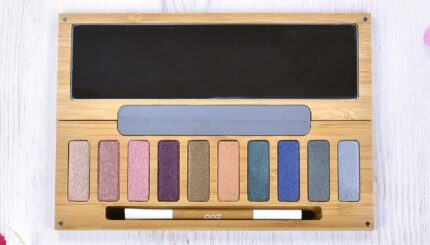 Zao Eye Shadow Palette Top View