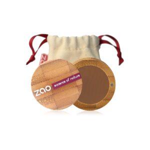 Zao Eyebrow Powder Case And Travel Pouch