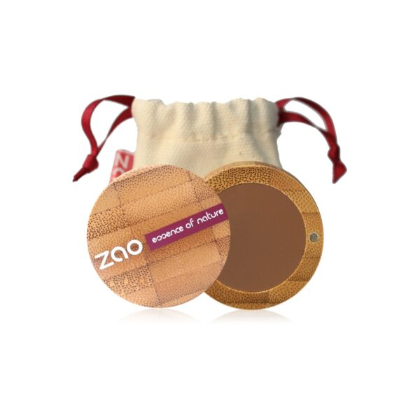 Zao Eyebrow Powder Case And Travel Pouch