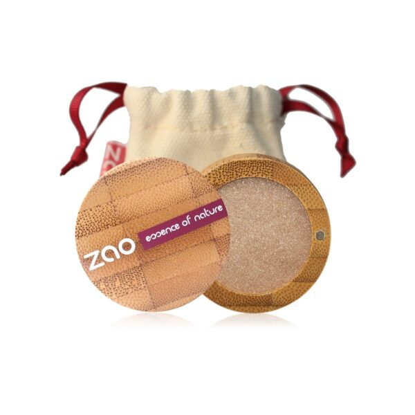Zao Golden Sand Eyeshadow Case And Bag