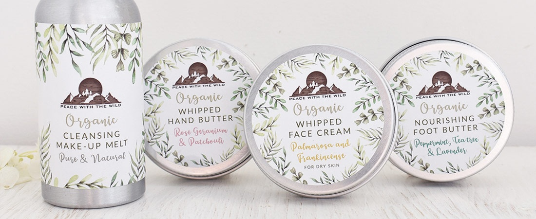 Peace with the wild skin care collection