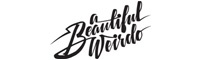a beautiful weirdo glitter brand image