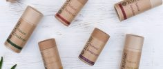 Kutis natural deodorant stick selection of mixed fragrances