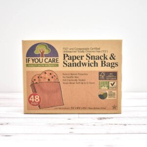 If You Care Paper Snack & Sandwich Bags