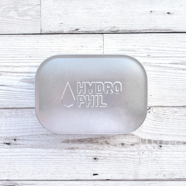 Hydrophil Stainless Steel Soap Travel Tin