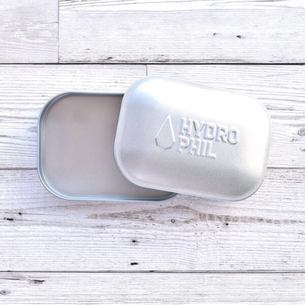 Hydrophil Stainless Steel Soap Travel Tin Open
