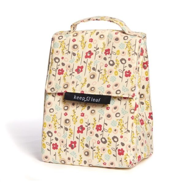 Keep Leaf Insulated Lunch Bag With Bloom Pattern