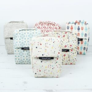 Selection of Keep Leaf Insulated Lunch Bags in different styles