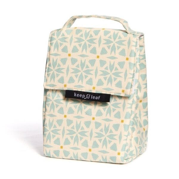 Keep Leaf Geo Print Insulated Lunch Bag