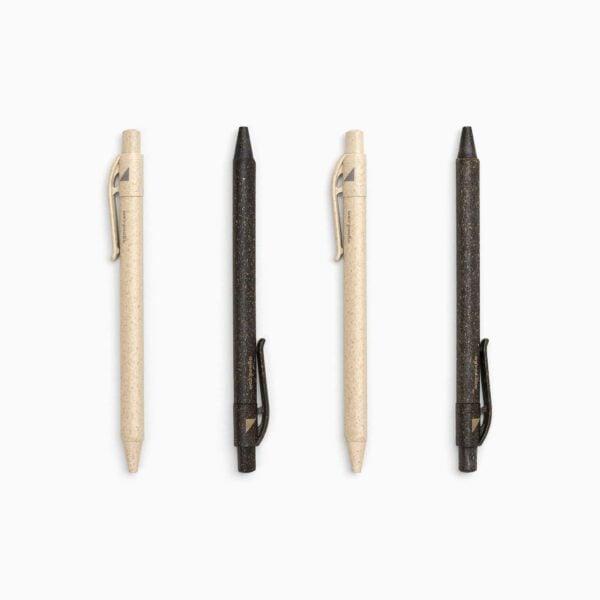 A Good Company Refill Natural Grass Pens Wheat Beige & Black