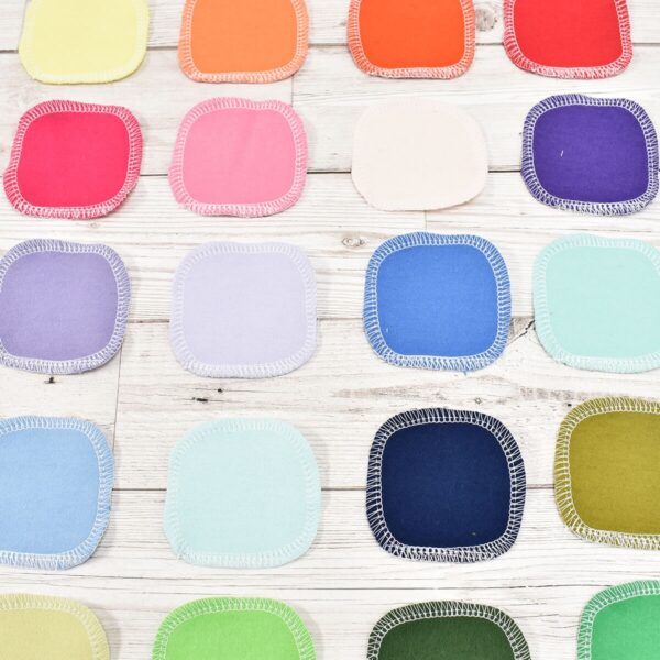 Marleys Monsters Rainbow Cotton Facial Rounds All Colours