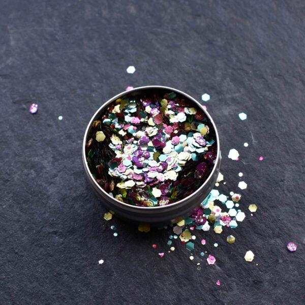 A Beautiful Weirdo Rainbow Pride Biodegradable Glitter