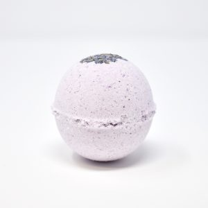 the salty herb , lavender, Sunset Lavender, Bath Bomb, vegan, cruelty free, natural, plastic free,
