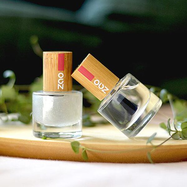 Zao Nail Base Coat And Top Coat