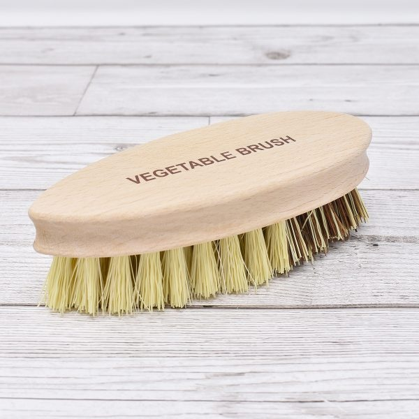 Nether Wallop Trading Co Natural Bristle Vegetable Brush