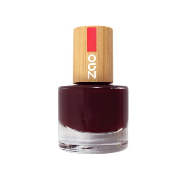 Zao Black Cherry Nail Polish