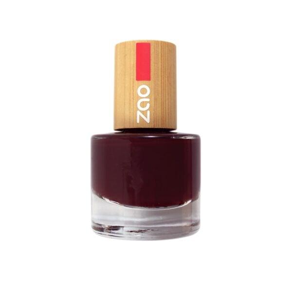 Zao Black Cherry Nail Polish