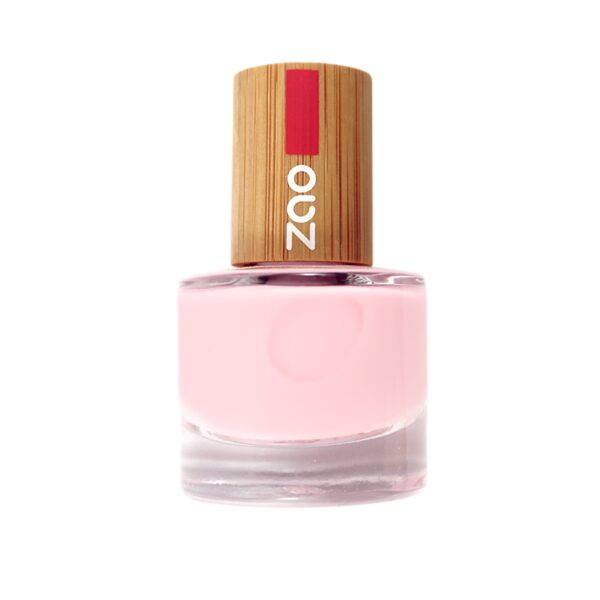 Zao Pink French Manicure Nail Polish