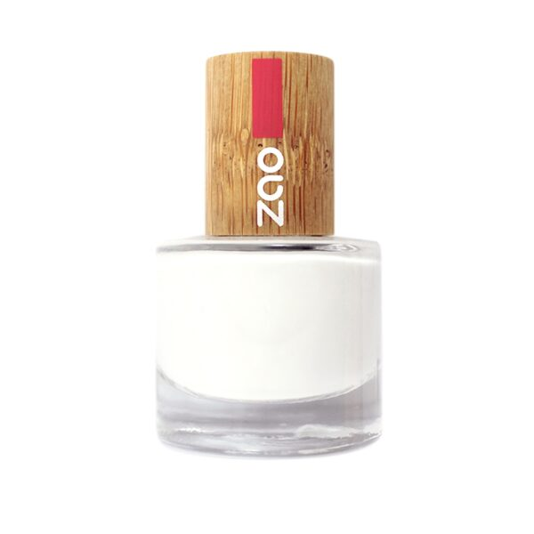Zao White French Manicure Nail Polish