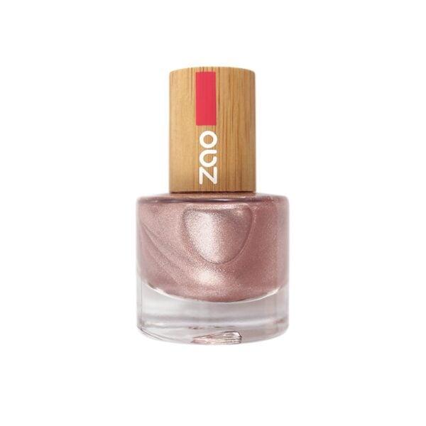 Zao Pink Champagne Nail Polish