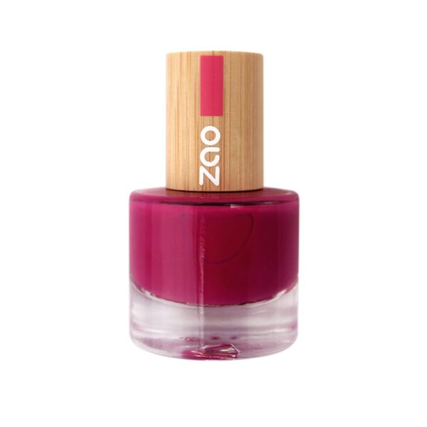 Zao Raspberry Nail Polish