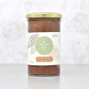 Butterbelle Handmade Cacao Orange Cashew Butter