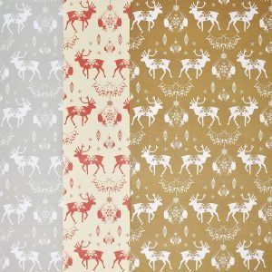 Happy Wrap Recycled Christmas Wrapping Paper 3 Pack