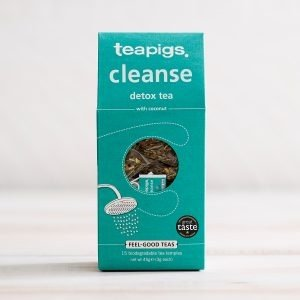 Teapigs Cleanse With Coconut Detox Plastic Free Tea Bags