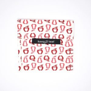 Kepp Leaf Reusable Snack & Sandwich Baggie , Fruit Pattern