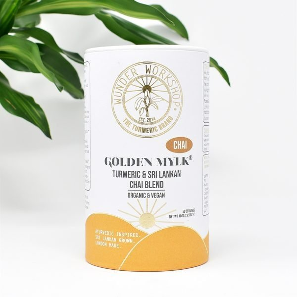 Wunder Workshop Organic Golden Mylk Chai Turmeric Latte