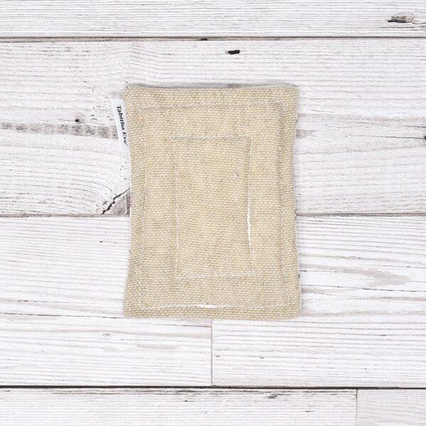 Tabitha Eve, None Sponge, sponge, heavy duty, natural, plastic-free, bio-degradable, cotton, bamboo , hessian, underside of sponge,