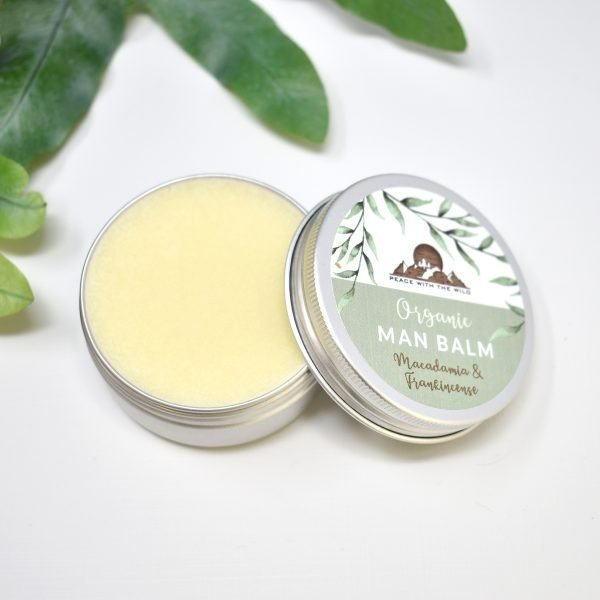 Peace With The Wild Organic Macadamia & Frankincense Man Balm