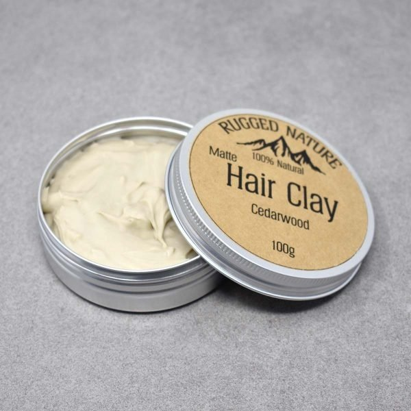 Rugged Nature Cedarwood Natural Vegan Hair Clay