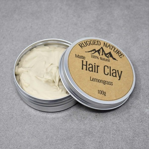 Rugged Nature Lemongrass Natural Vegan Hair Clay