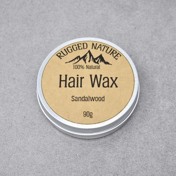 Rugged Nature Sandalwood Natural Hair Wax Tin