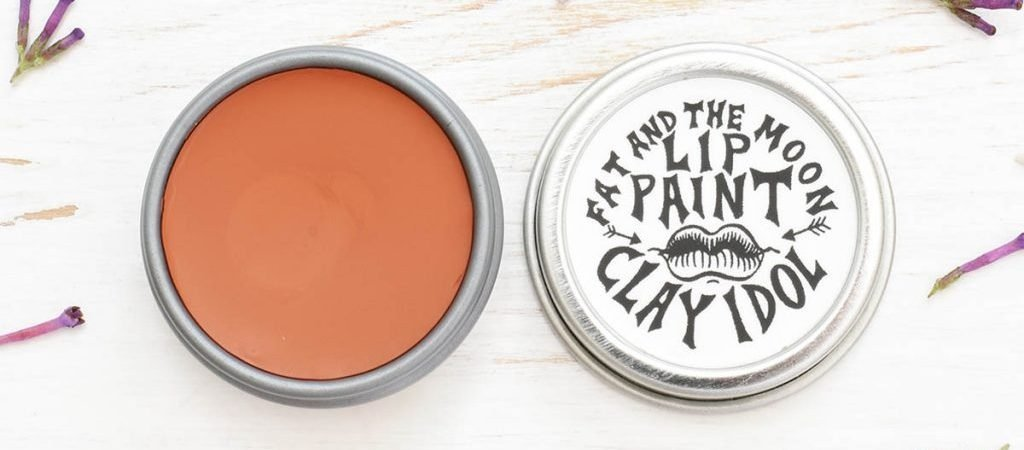 Fat And The Moon Lip Paint Clay Idol