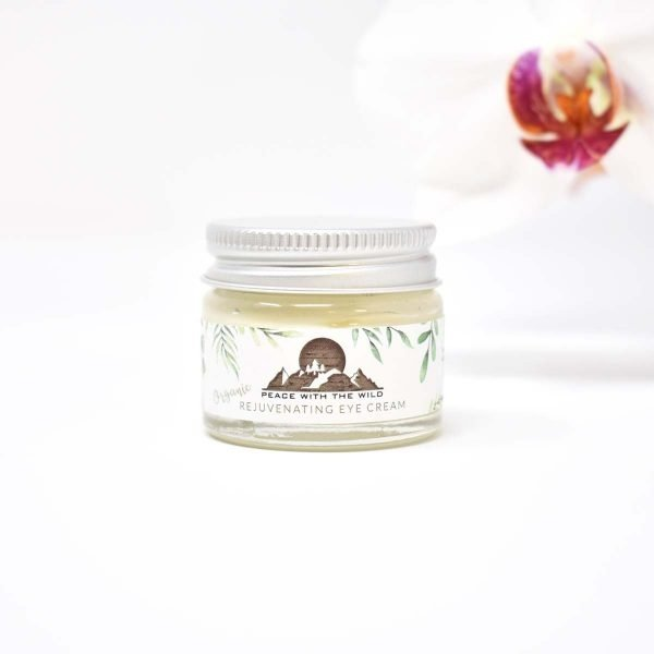 Peace With The Wild Organic Rejuvenating Eye Cream