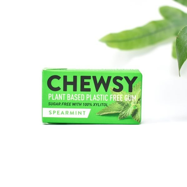 Chewsy Plastic-free Spearmint Chewing Gum