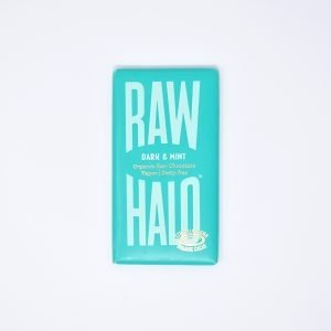 Raw Halo Vegan Organic Raw Chocolate Dark & Mint