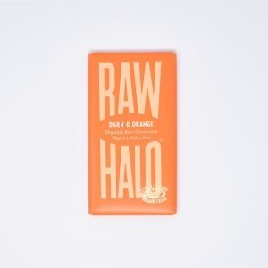 Raw Halo Vegan Organic Raw Chocolate Dark & Orange
