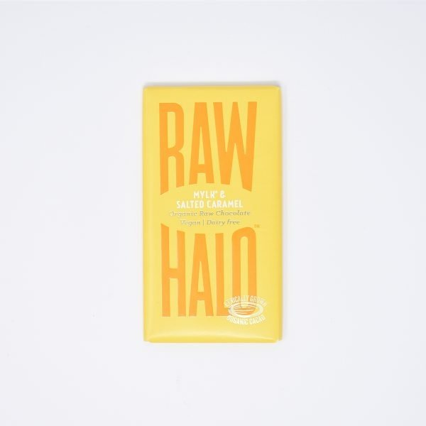Raw Halo Vegan Organic Raw Chocolate Mylk & Salted Caramel